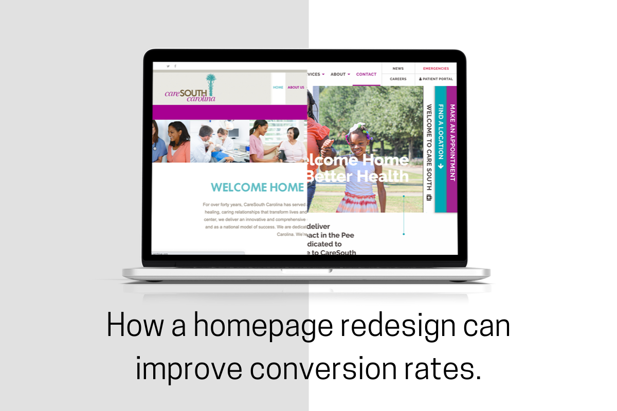How Can a Homepage Redesign Improve My Conversion Rates?