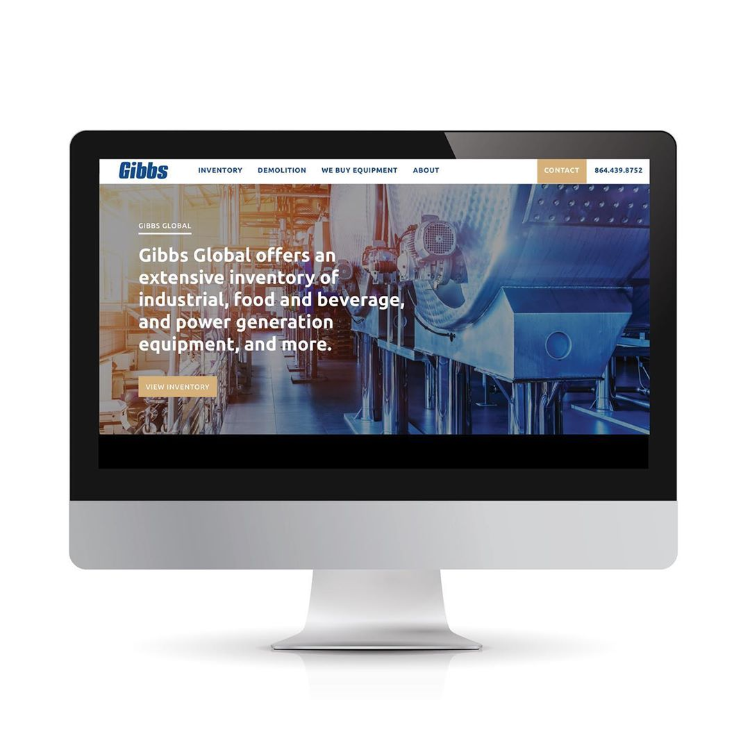 New Website for Gibbs International
