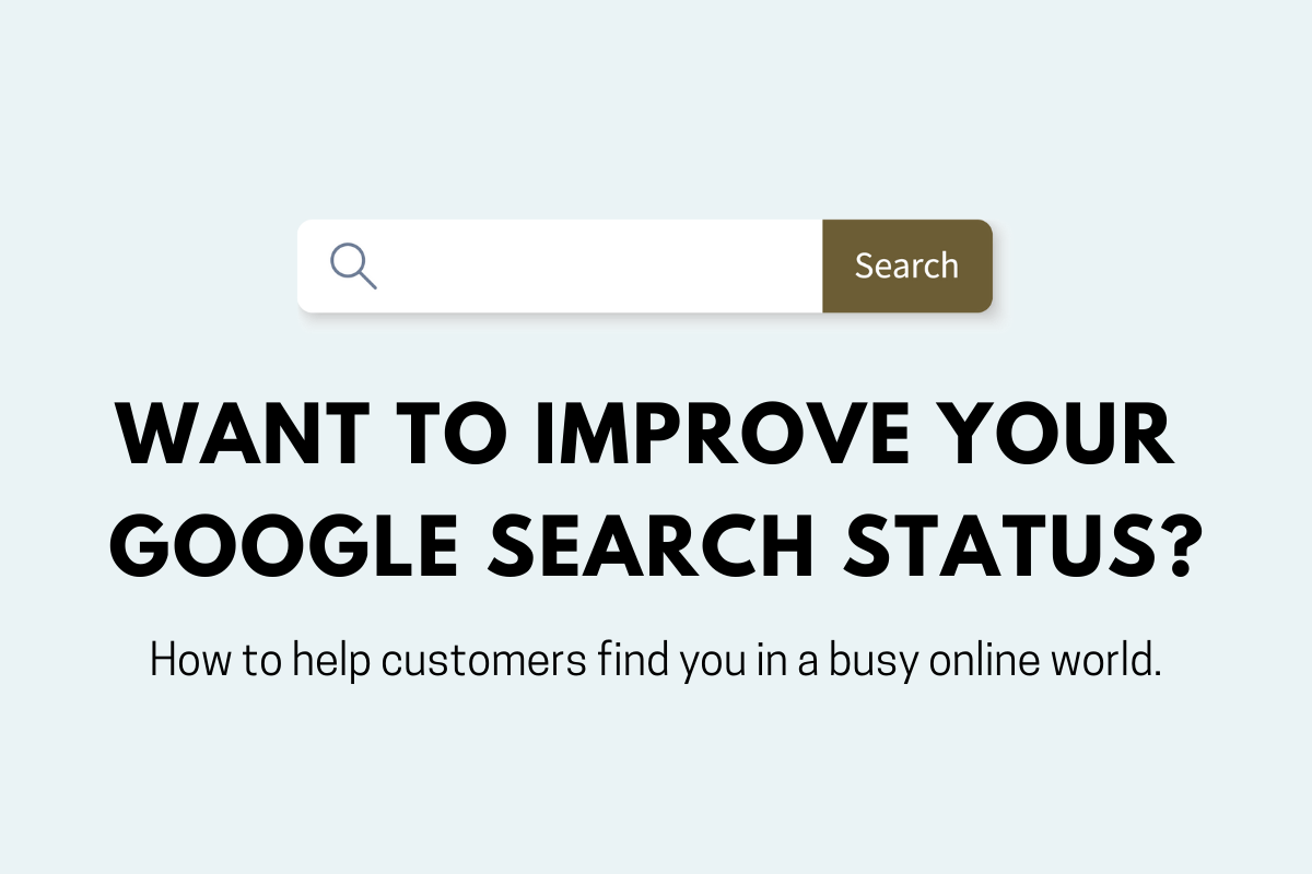 How can my business show up on Google for its services?