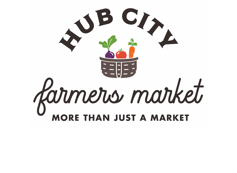 Hub City Farmers Market Logo Design