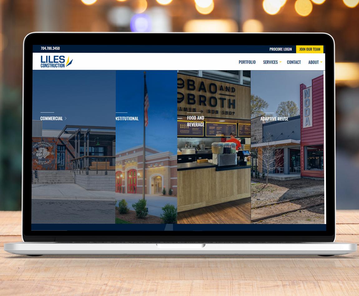 Liles Construction Website