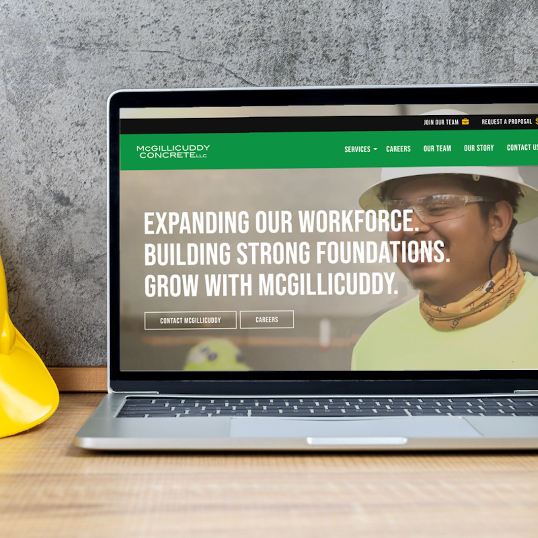 McGillicuddy Concrete Website