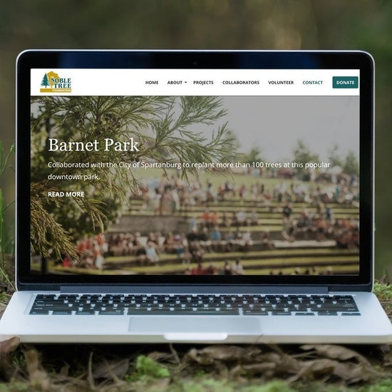 Website for Noble Tree Foundation