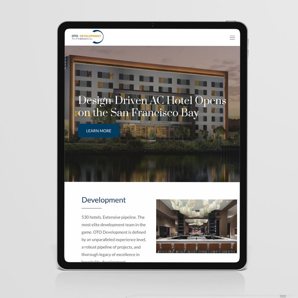 OTO Development Corporate Website