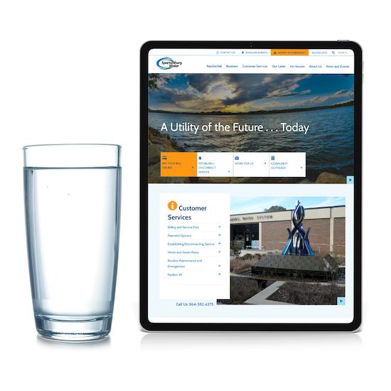 Spartanburg Water Website