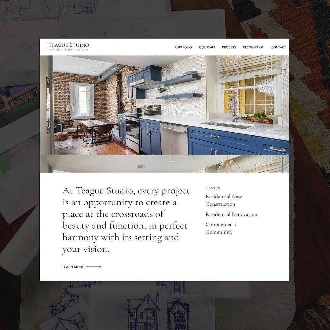 Teague Studios Website