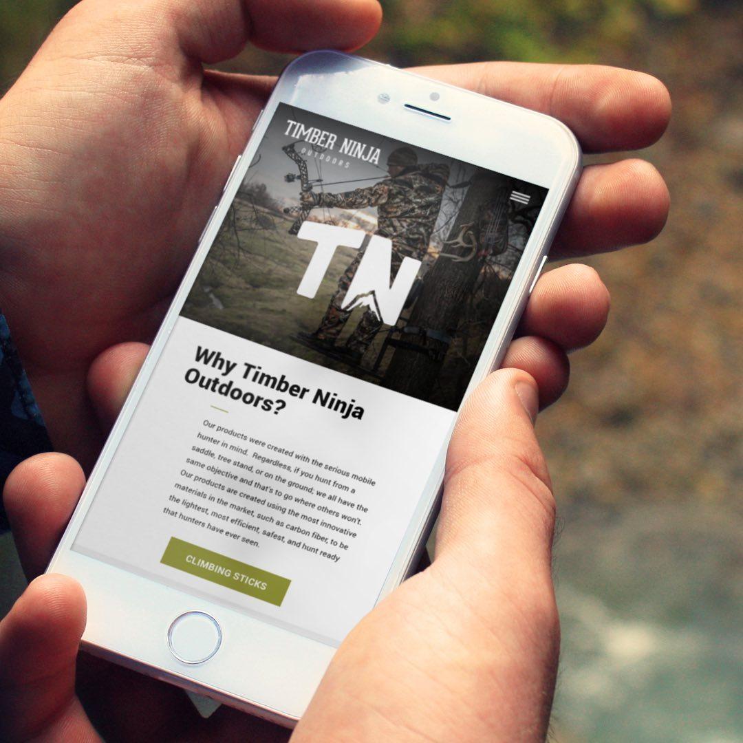Timber Ninja Website