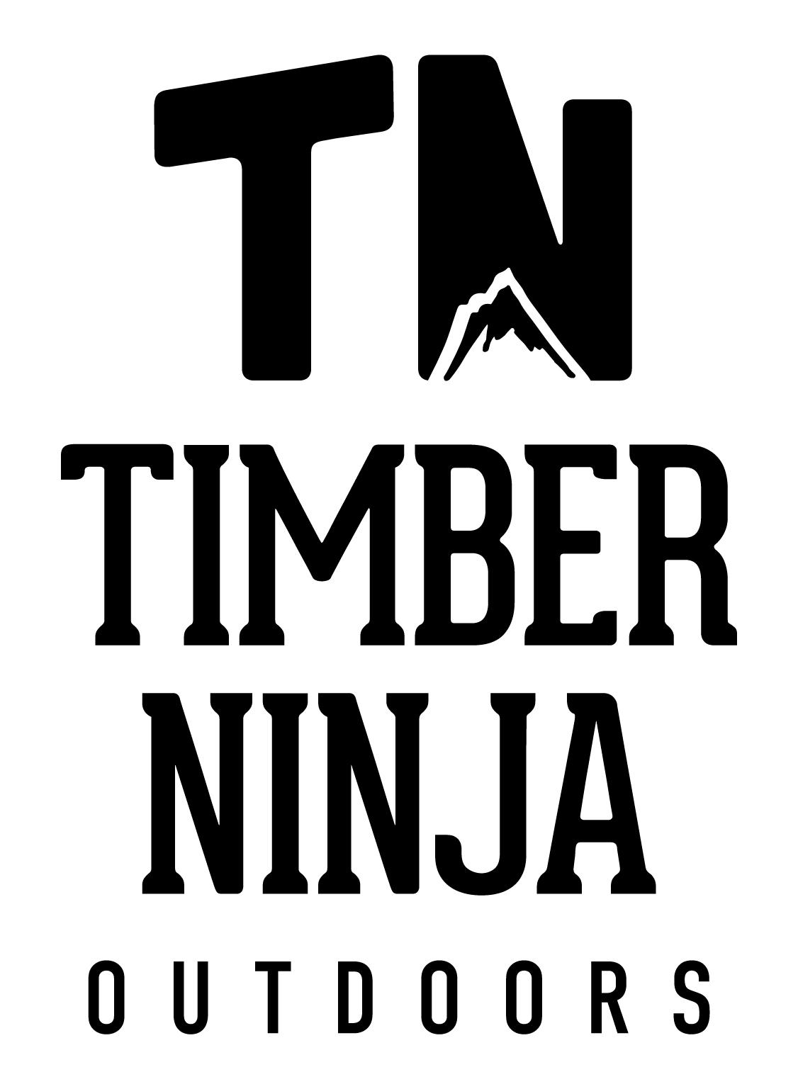 Timber Ninja Outdoors Logo Design